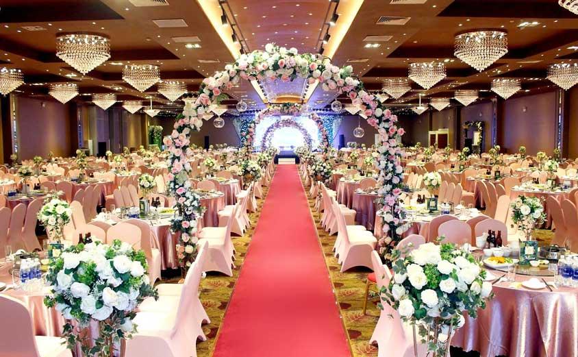 lối vào lễ đường cưới trống đồng - Hà Nội