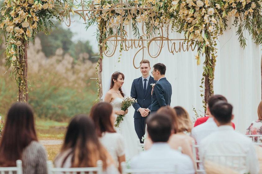 lễ thành hôn chính thức