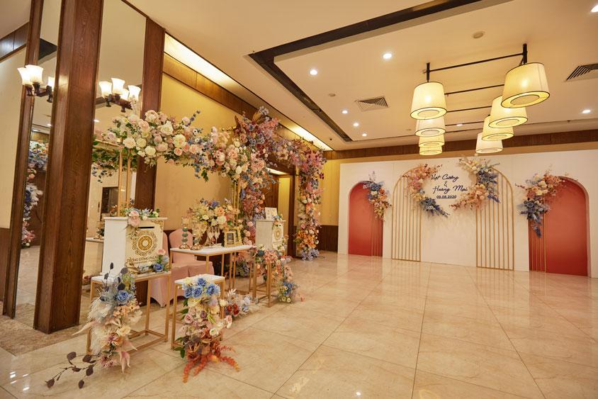 sảnh tiệc cưới Trống Đồng Trần Đăng Ninh - Cầu Giấy