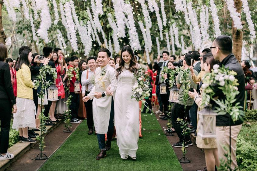 hạn chế chi phí cho tiệc cưới đông khách