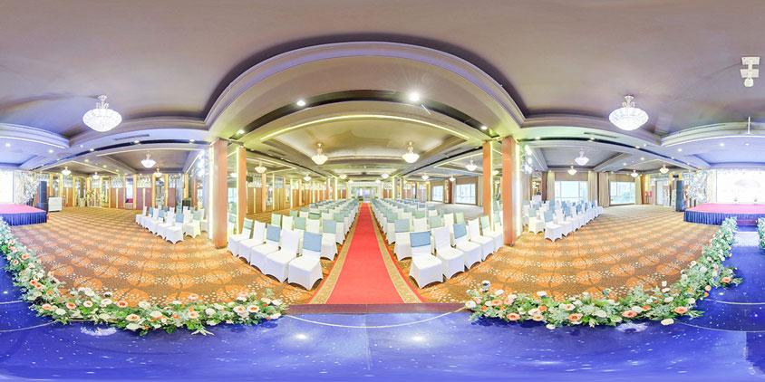 tiệc cưới tổ chức tại trung tâm Newday Palace Đống Đa