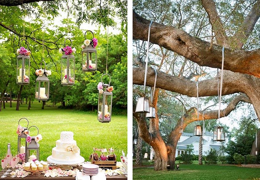 Tiệc cưới ngoài trời tốn nhiều chi phí trang trí