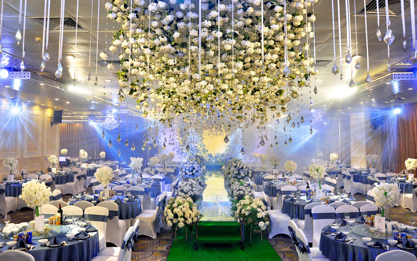 tiệc cưới tổ chức tại trung tâm Seasons Đống Đa