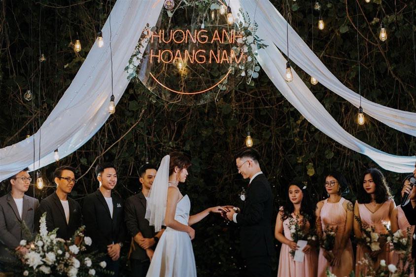 tổ chức tiệc cưới tại Trống Đồng