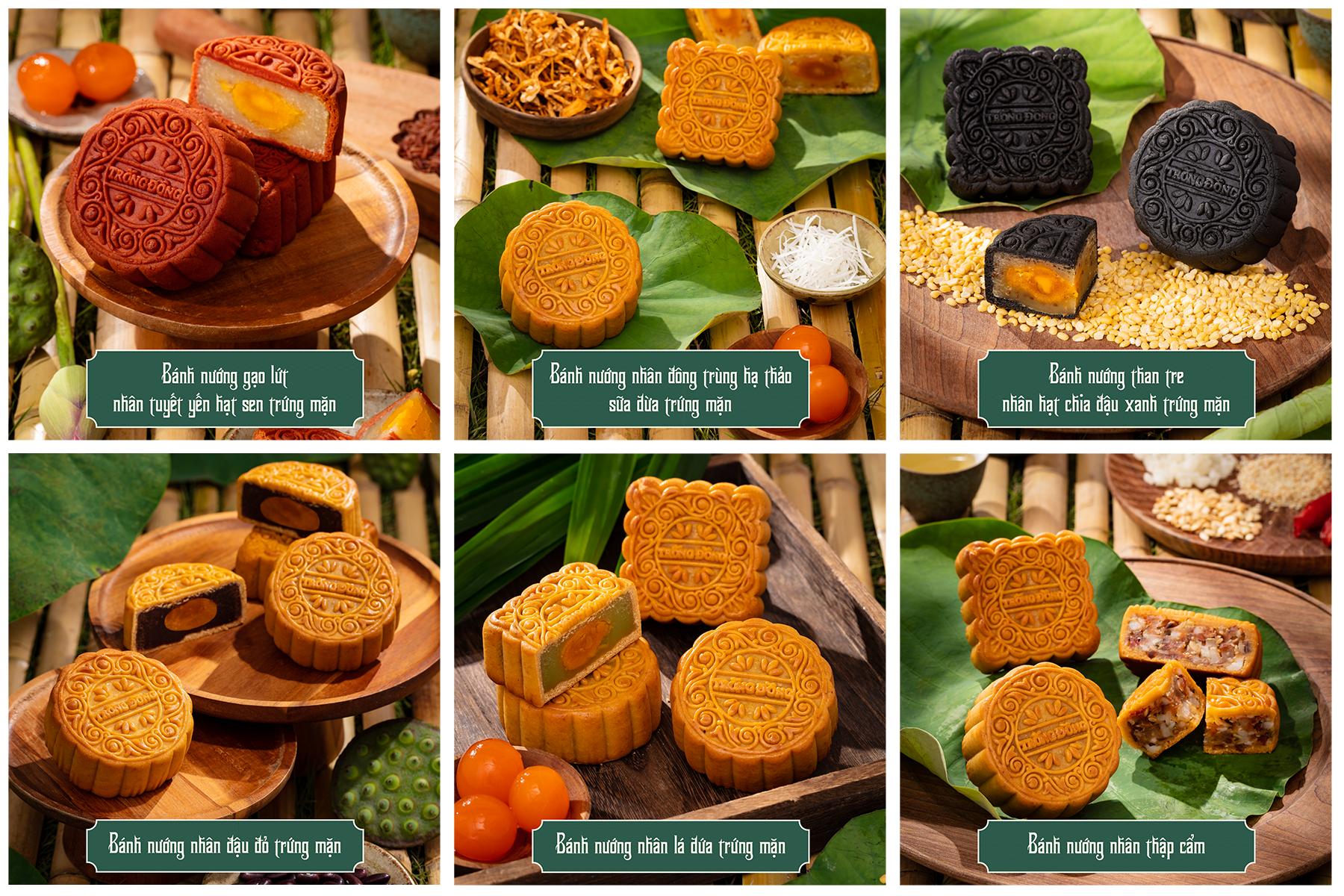 06 hương vị bánh trung thu mang thông điệp xanh trong BST 'Trăng Soi Nguồn Cội'