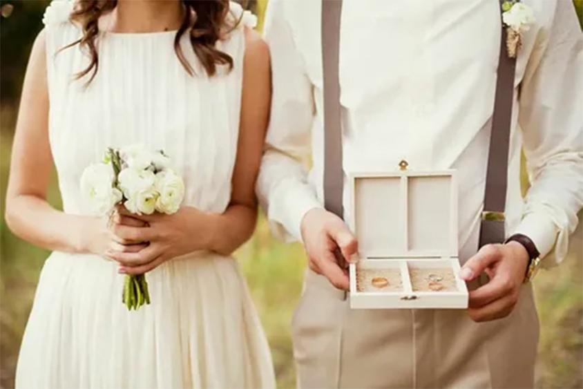 Sự gắn kết của cô dâu chú rể