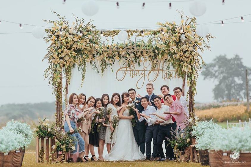 Độc đáo và mới lạ là lý do nên tổ chức tiệc cưới ngoài trời