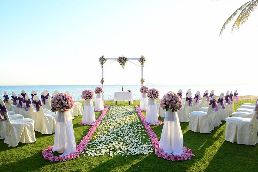 Tiệc cưới ven sông tại An Tâm Villa