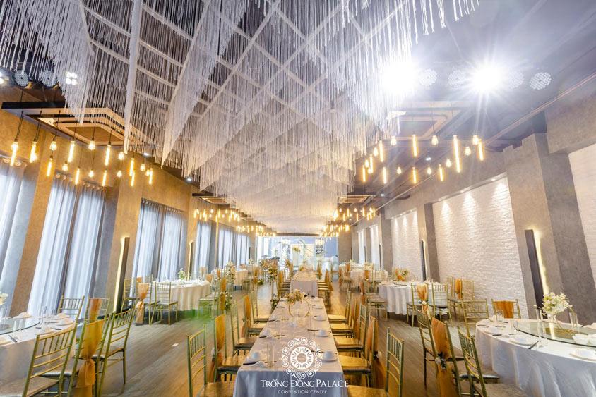 Địa điểm tổ chức tiệc cưới buffet Trống Đồng Hà Đông