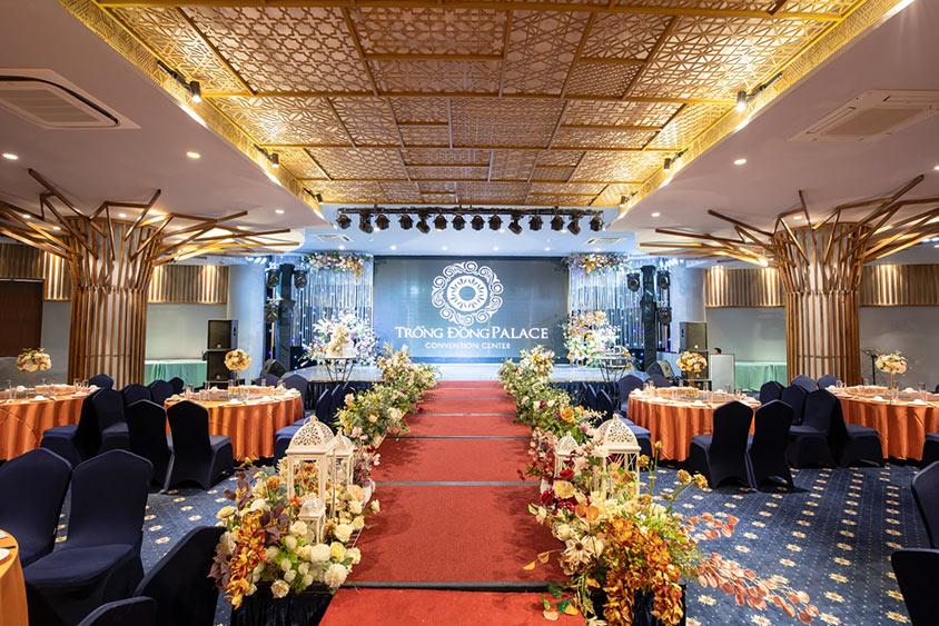 Địa điểm tổ chức tiệc cưới buffet Trống Đồng Hoàng Quốc Việt