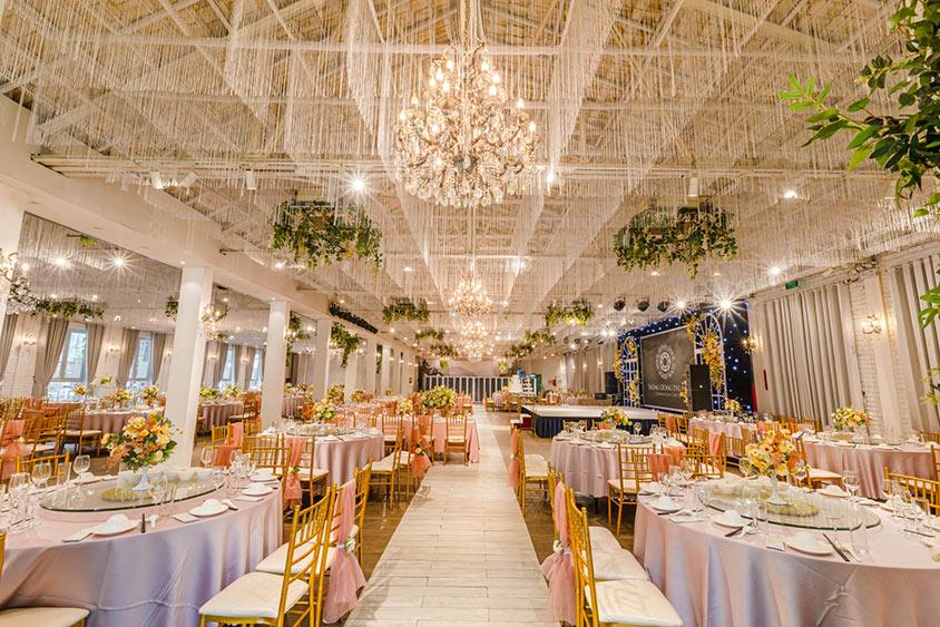 Địa điểm tổ chức tiệc cưới buffet Trống Đồng Linh Đàm Park
