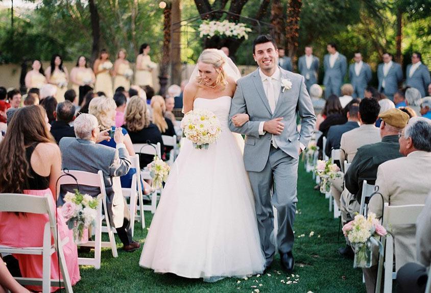 Tiệc cưới kiểu Tây thường có khá ít khách mời
